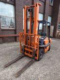 Forklift, 4 x wheel counter bal