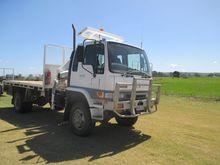 2000 Hino GT Series Crane Truck