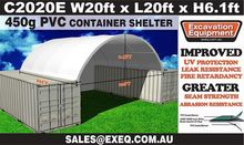 C2020E 20ft Container Shelter w