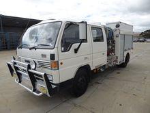 MAZDA T4600 4 x 2 Fire Truck, 1