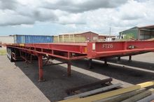 1974 Freighter FLAT BED TRAILER
