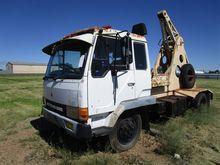 1987 Mitsubishi FK 415F Crane T