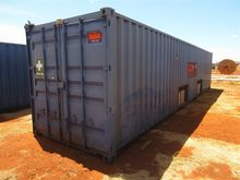 2 x 40' Containerised Workshops