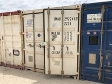 Shipping Container 20` Standard