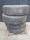 4 x Bridgestone Crane Tyres