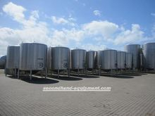 Stainless Steel vertical tanks