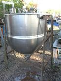 Hubbert 125 gal jacketed kettle