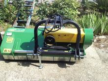 Movable hydraulic mulches proje