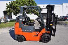 Used Toyota 7FGCU25