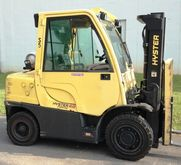 2012 Hyster H80FT LP Gas Pneuma