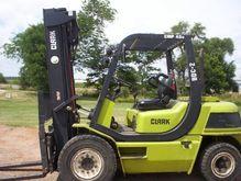 2009 Clark CMP45D Diesel Pneuma