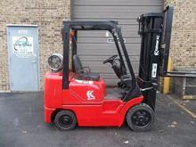 1998 Kalmar C50BXPS LP Gas Cush