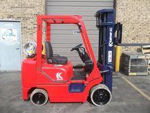 1997 Kalmar C50BXL LP Gas Cushi