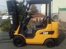 2007 Cat C4000 LP Gas Cushion T