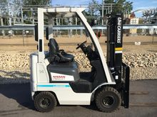 2013 Unicarriers PF15 Gasoline