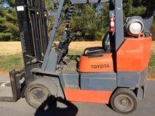 Toyota 6FGCU45BCS LP Gas Cushio