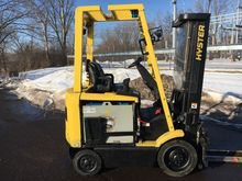 2008 Hyster E50Z Electric Cushi