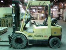 1995 Hyster H50XM LP Gas Pneuma