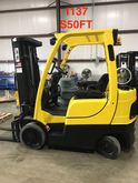 2009 Hyster S50FT LP Gas Cushio