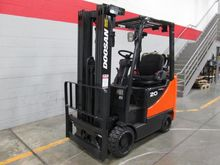 2010 Doosan GC20SC-5 LP Gas Cus