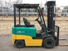 2012 Komatsu FB25EX Electric Pn