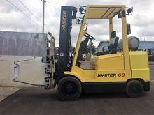 Hyster S60XM LP Gas Cushion Tir