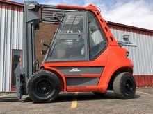Linde H60D-03 Diesel Pneumatic