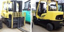 2007 Hyster H155FT LP Gas Cushi