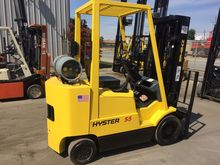 2001 Hyster S55XMS LP Gas Cushi