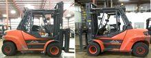 2014 Linde H80 Diesel Pneumatic