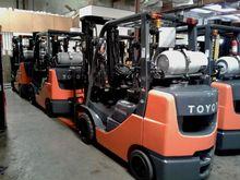 Toyota 8FGCU25 LP Gas Cushion T