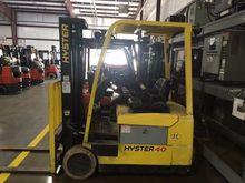 2010 Hyster J40ZT Electric Cush