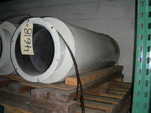 MUFFLER WITH FLANGE FOR BLOWER