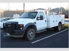 2008 Ford F450 Utility Truck