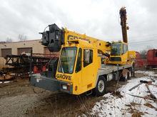 2001 Grove tms500e Hydraulic Tr