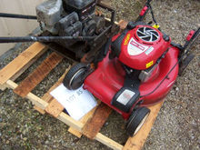 Lawn Mower & Cast Iron Slee