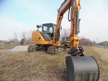 2015 Case cx80c Hydraulic Excav