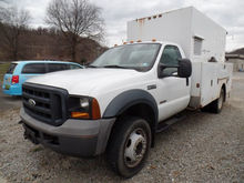 2006 Ford F550 Utility Truck