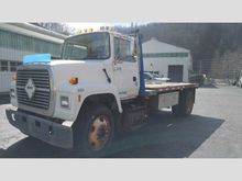1997 ford ln8000 Dump Bed Truck