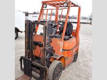 2009 Toyota 42-6fgcu25 Forklift