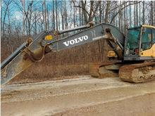 2010 Volvo ec210cl Hydraulic Ex