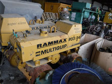 Rammax rw 1403 Trench Compactor
