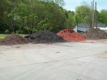 Mulch Piles, 4x4in Posts &