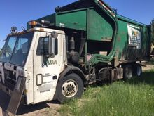 2003 mack le613 One Pass Garbag