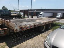 1996 interstate 40tdl Flatbed T