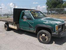 1995 gmc 3500 Flatbed Truck