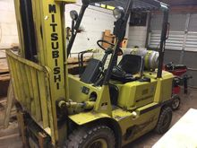 1989 fg-25 Mitsubishi Forklift