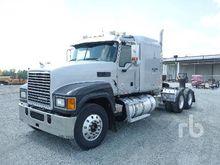 2011 Mack CHU613 Sleeper Truck