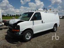 2012 Chevrolet 2500 Cargo Van P