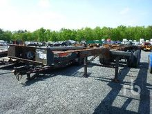 2008 20 Ft T/A Container Traile